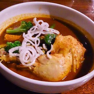 チキンスープカレー「煮込みタイプ」(レッドチリ (RED CHILI))