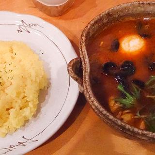 ラムボールのスープカレー(カレー気分 (カレーキブン))