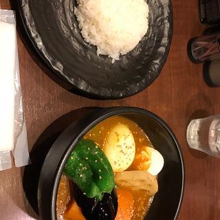エッグと野菜のスープカリー(シャンティ 池袋店 (SHANTi))