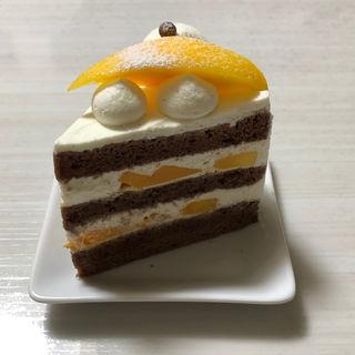 マンゴーとスコッチのショートケーキ(やまもと菓子店)