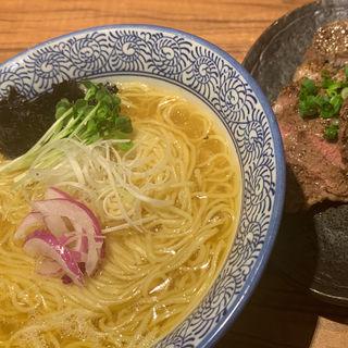 THE豚塩清湯ラーメン(ラーメン燈郎)
