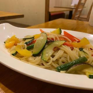夏野菜のペペロンチーノ(オステリア 新小岩 (OSTERIA))