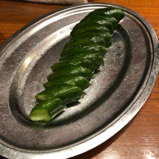 おつまみ胡瓜(ぎんぶた 赤坂店 )