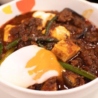 玉子で食べる四川風麻婆豆腐定食(松屋 姫路店 )