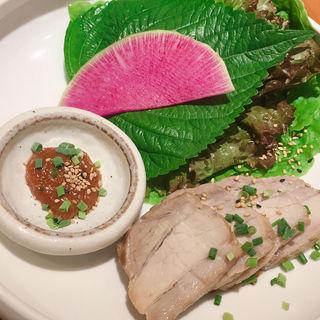 冷麺&薬膳ポッサム(韓国料理 水刺齋 高島屋タイムズスクエア店 )
