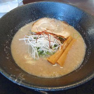 魚介鶏白湯(塩)(らーめん ぎん流 本店)