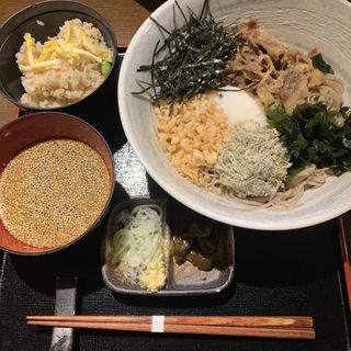 牛しぐれつけ蕎麦(庵狐 円山町店 (あんこ))