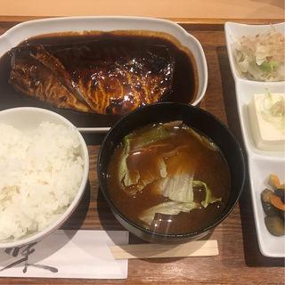 鯖味噌(赤坂ダイニング ままや )
