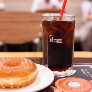 アイスコーヒー(ミスタードーナツ 山陽姫路ショップ )