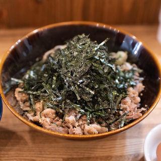 冷・肉つけ蕎麦(つけ麺 冨 (ツケメン トミ))
