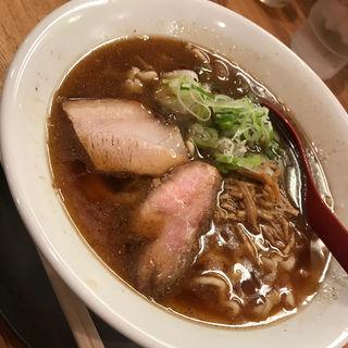 喜多方らーめん  煮干し(麺や 七彩 八丁堀店)