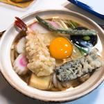 鍋焼きうどん(上)