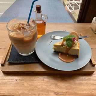 ケーキセット(niji cafe (ニジ カフェ))