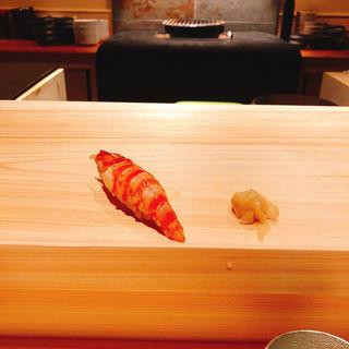 車海老の握り(鮨 利崎)