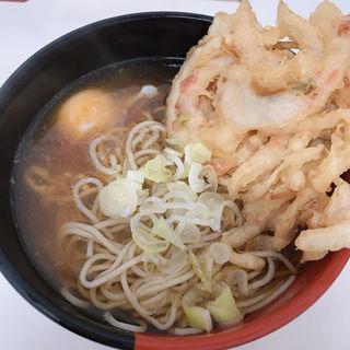 かき揚げ天ぷら玉子そばうどん(そばっ子 )