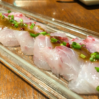 鮮魚のカルパッチョ(TOKYO KITCHEN (東京キッチン))