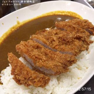かつカレー(ジョイアルカレー神田錦町店)