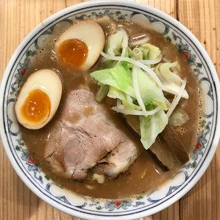 スモーク豚骨パイタン麺(くじら食堂 )