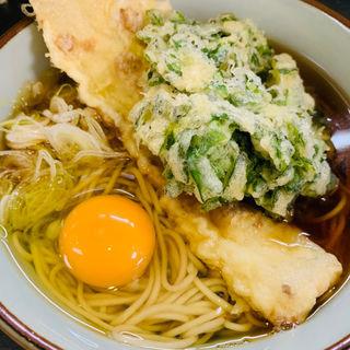 春菊、ちくわ、生卵(文殊 両国駅前店 )