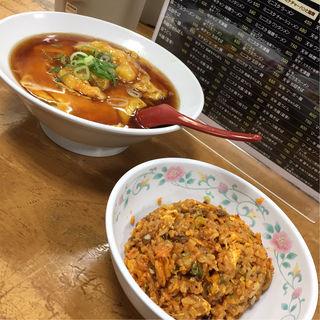 ミニスタ 天津麺(十八番 本店 (ジュウハチバン))