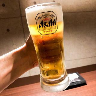 生ビール(とらや 新宿店)