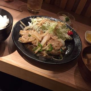 やんばるあぐー生姜焼き(あぐー総本店小野 )