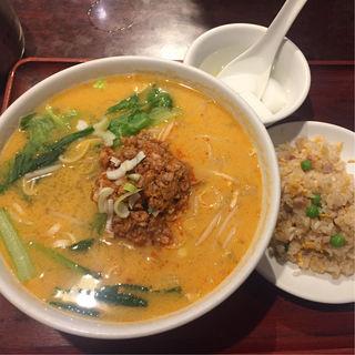 担々麺 半チャーハン(美味閣 )