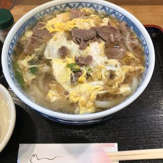 肉とじうどん(なかのや)