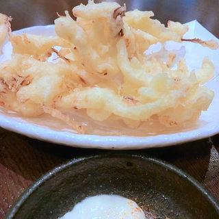 スルメの天ぷら(天神橋 なじみ野)