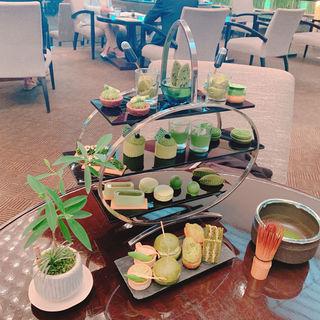 抹茶のアフタヌーンティー(すし乾山 赤坂インターコンチホテル店 (けんざん))