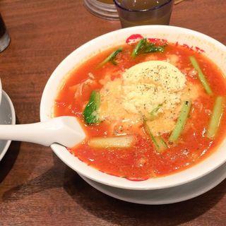 太陽のチーズラーメン(太陽のトマト麺Next 新宿ミロード店 )