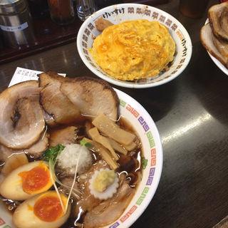 肉そばしょうゆ(肉そば総本山神保町けいすけ )