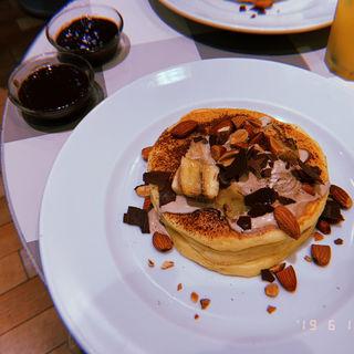 チョコレートバナナパンケーキ(ジェイエスパンケーキカフェ 立川店 (j.s. Pancake cafe))