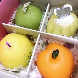 フルーツ餅(松竹堂 )