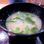 お味噌汁(波やし (はやし))