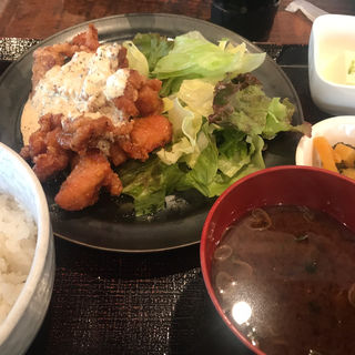 地鶏南蛮タルタル(ぼんぼり)