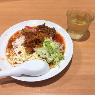 今夏限定 太陽のメキシカンタコス冷麺(太陽のトマト麺 三田店 )