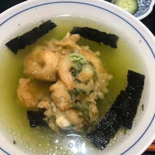 天ぷら茶漬け(恵比寿 天ぷら魚新)