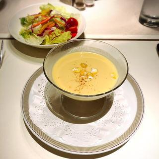 冷製コーンスープ(季節限定)(パークサイドダイナー(帝国ホテル))