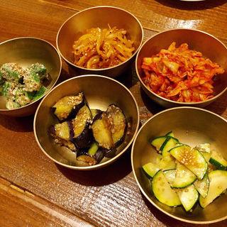 夏野菜のナムル盛り合わせ(HAN COOK (ハンコック))
