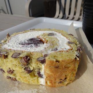 しゅまり大豆のロールケーキ