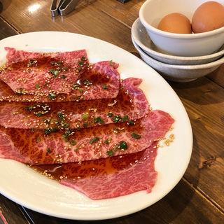 ウチヒラ 焼きすき(焼肉座牛)