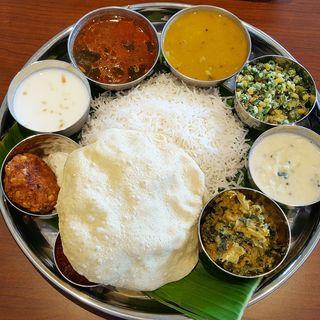 ランチミールス(南印度料理 タミルナドゥ (TAMIL NADU))