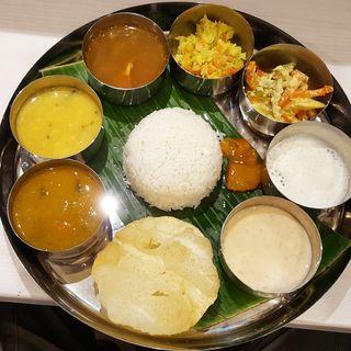 ベジタブルミールス(カフェ&レストラン カレーリーブズ(Curry Leaves Cafe&Restaurant))