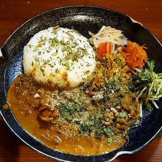 2種合いがけ(curry カリーみよし)