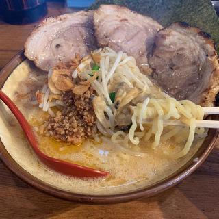 江戸前味噌チャーシュー麺(芝山商店 )