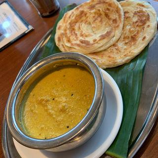 パロタ セット(南印度料理 タミルナドゥ)