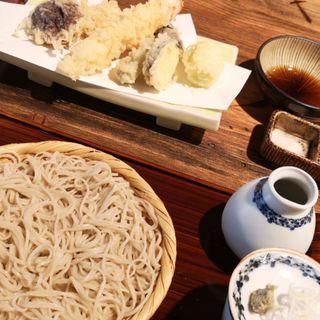 天ぷらそば(蕎麦前ながえ、)