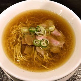 きりんの醤油拉麺(中洲きりん)