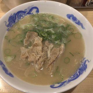 長浜ラーメン(元祖ラーメン 長浜男 東光店)